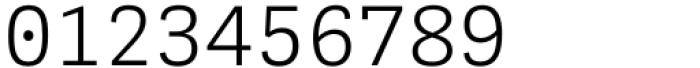 Adelle Mono Flex Light Font OTHER CHARS