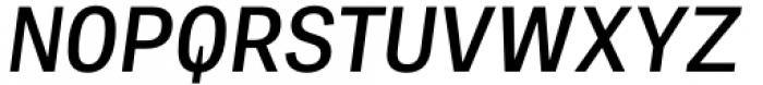 Adelle Mono Flex Semibold Italic Font UPPERCASE