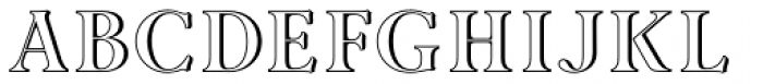 Ademo ExtraLight Font UPPERCASE