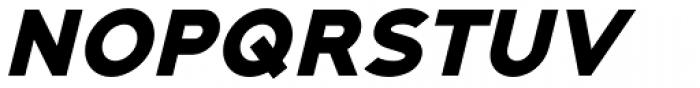 Adequate Black Italic Font UPPERCASE