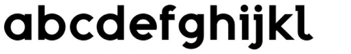 Adequate Bold Font LOWERCASE