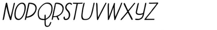Aderyn Bold Italic Font LOWERCASE
