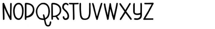 Aderyn ExtraBold Font LOWERCASE