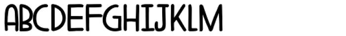 Aderyn Fat Font LOWERCASE
