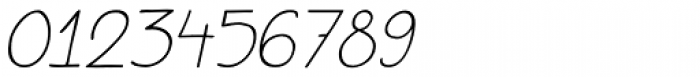 Aderyn Italic Font OTHER CHARS