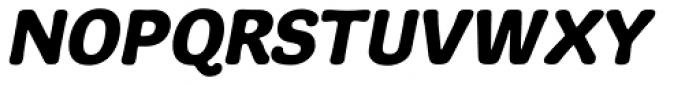 Adesso BoldItalic Font UPPERCASE