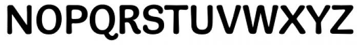 Adesso Medium Font UPPERCASE