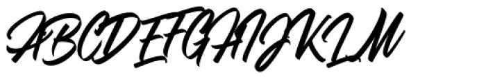 Adevale Font UPPERCASE