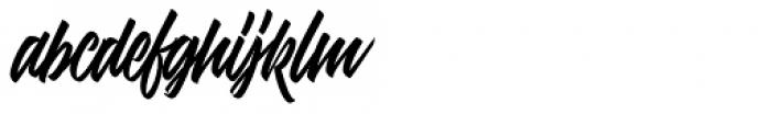 Adevale Font LOWERCASE