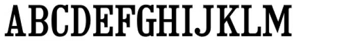 Adhesive Serif Letters JNL Font LOWERCASE