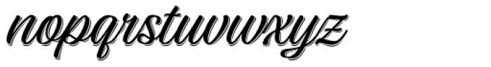 Adinah Shade Font LOWERCASE