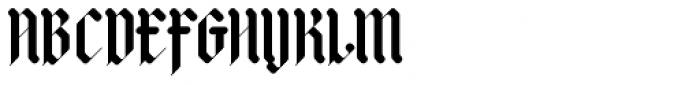 Adlibitum Bold Font UPPERCASE