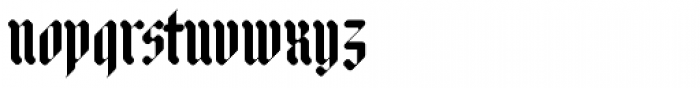 Adlibitum Bold Font LOWERCASE