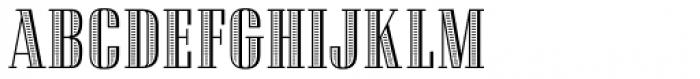 Admira Font LOWERCASE