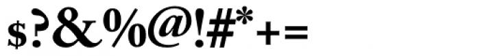 Adobe Caslon Bold Oldstyle Figures Font OTHER CHARS