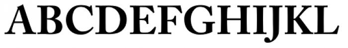 Adobe Caslon Bold Oldstyle Figures Font UPPERCASE