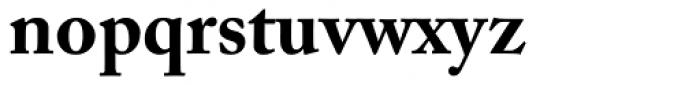 Adobe Caslon Bold Oldstyle Figures Font LOWERCASE