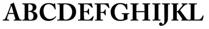 Adobe Caslon Bold Font UPPERCASE