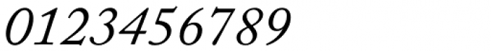 Adobe Caslon Italic Font OTHER CHARS
