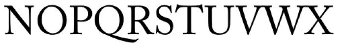 Adobe Caslon Pro Font UPPERCASE