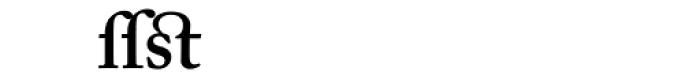 Adobe Caslon SemiBold Alternate Font UPPERCASE