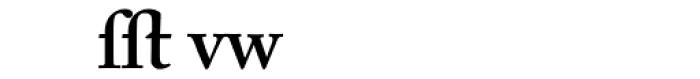 Adobe Caslon SemiBold Alternate Font LOWERCASE