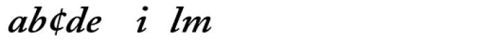 Adobe Caslon SemiBold Italic Expert Font UPPERCASE