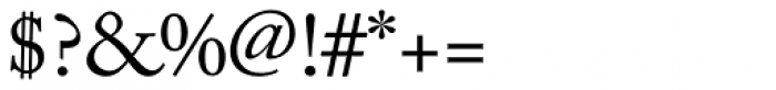 Adobe Caslon Font OTHER CHARS