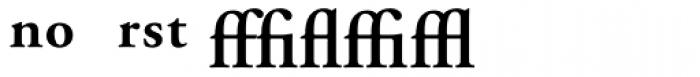 Adobe Garamond SemiBold Expert Font UPPERCASE
