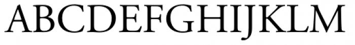 Adobe Garamond Font UPPERCASE