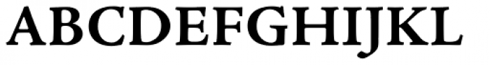 Adobe Jenson Pro Caption Bold Font UPPERCASE