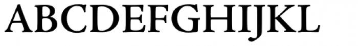 Adobe Jenson Pro SemiBold Font UPPERCASE