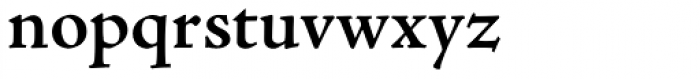 Adobe Jenson Pro SemiBold Font LOWERCASE