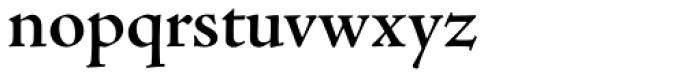 Adobe Jenson Pro SubHead SemiBold Font LOWERCASE