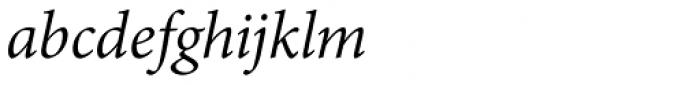 Adobe Thai Italic Font LOWERCASE