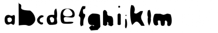 Adolescence Font LOWERCASE
