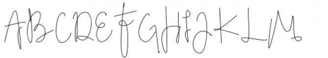 Adolf William Regular Font UPPERCASE