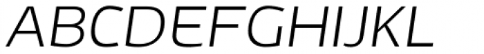 Adonide Light Italic Font UPPERCASE
