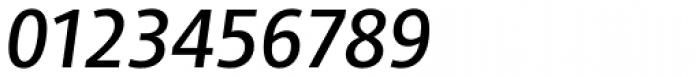 Adora Compact PRO medium Italic Font OTHER CHARS