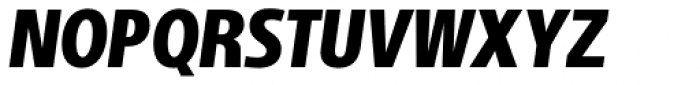 Adora Compressed PRO Black Italic Font UPPERCASE