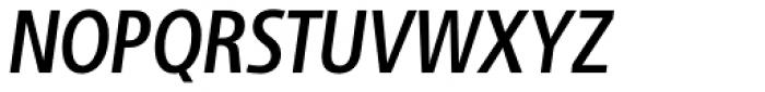 Adora Compressed PRO Medium Italic Font UPPERCASE