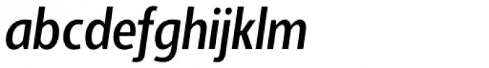 Adora Compressed PRO Medium Italic Font LOWERCASE