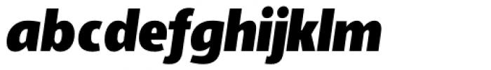 Adora Compressed PRO Ultra Italic Font LOWERCASE