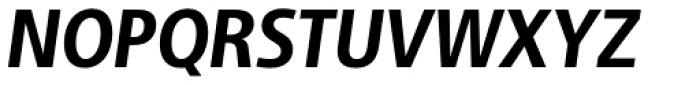 Adora Condensed PRO Bold Italic Font UPPERCASE