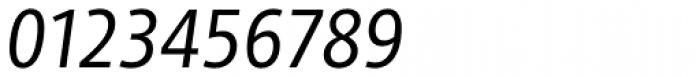 Adora Condensed PRO Regular Italic Font OTHER CHARS