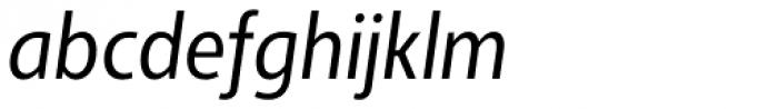 Adora Condensed PRO Regular Italic Font LOWERCASE