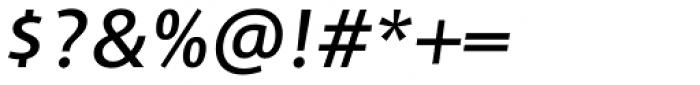 Adora Normal PRO Medium Italic Font OTHER CHARS