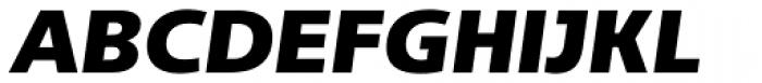 Adora Normal PRO Ultra Italic Font UPPERCASE