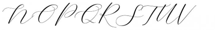 Adore Calligraphy Regular Font UPPERCASE