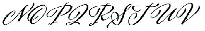 Adorn Coronet Font UPPERCASE